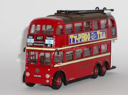 Autocarro Qi Trolly Bus Londres