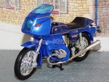 BMW R-100 RS azul 1978