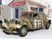 Citroen 11CV Traction 1944 FFI