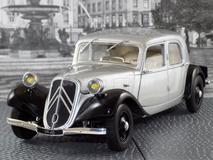 Citroen Traction B 11CV 1937 cinza
