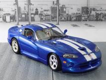 Dodge Viper GTS coupé azul