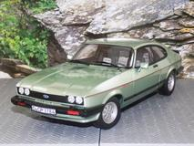 Ford Capri 2.8 Injection 1982 verde