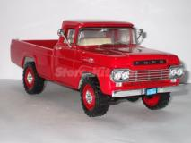 Ford F-250 Pick-up de 1959 vermelha