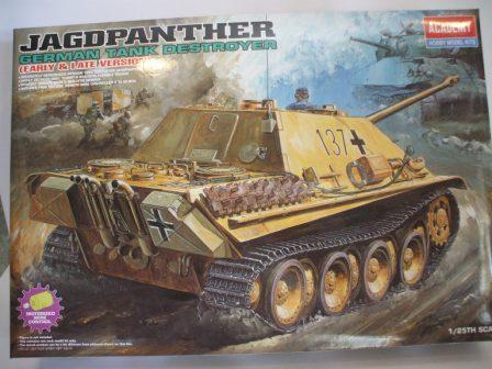Tanque Jagolpanther (Early e late version) 2ªG.G.M.