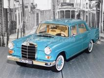 Mercedes-Benz 200 1966 azul