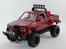 Pick-Up GMC Sierra 1992 vermelha
