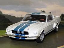 Shelby Mustang GT-500 1967 Branco