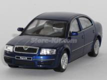 Skoda Superb azul