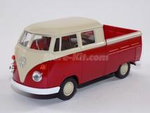 Volkswagen T-1 Pick-Up vermelha de 1970