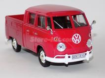 Volkswagen T-1 Ty-2 Pick-Up vermelha